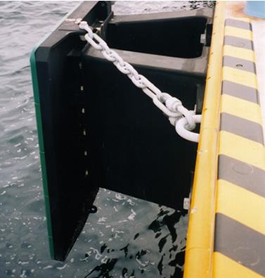 ユニットⅡ型防舷材